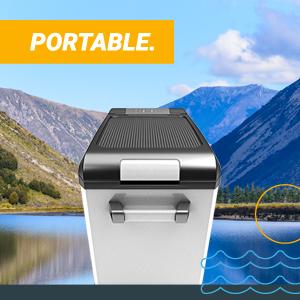 , Bluefin Active Portable Compressor Fridge Freezer 42L