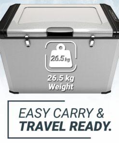 , Bluefin Active Portable Compressor Fridge Freezer 80L