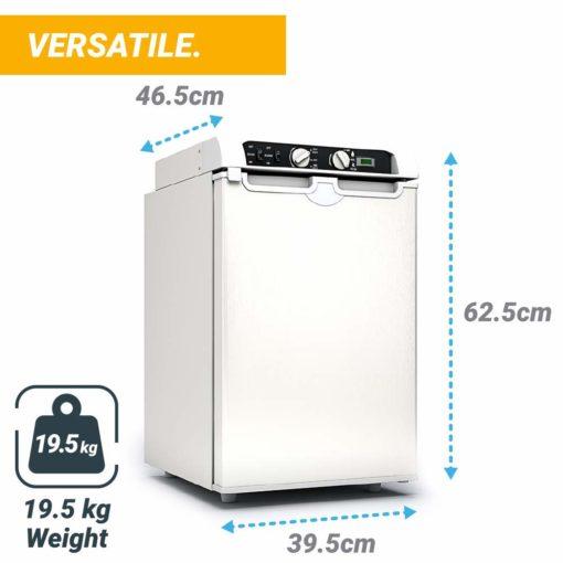 , Bluefin Active 3-Way Absorption Mini Fridge Freezer AC | DC | GAS Powered (43L | 60L)