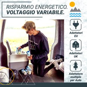 , Bluefin Active Firgo Freezer Compressore Portatile 35 L