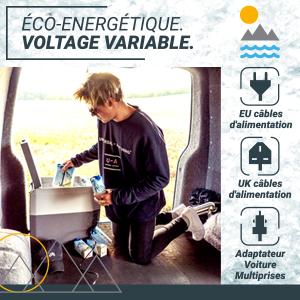 , Réfrigérateur Congélateur Compresseur Portable 24L Bluefin Active
