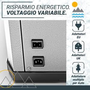 , Bluefin Active Firgo Freezer Compressore Portatile 60 L