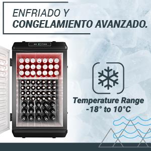 , Nevera Congeladora Portátil con Compresor de Bluefin Active 60L