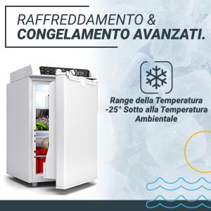 , Bluefin Active 3-Way Mini Frigo Freezer Compressore  AC | DC | A GAS (43L | 60L)