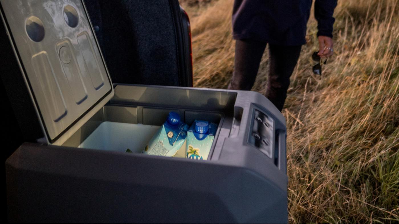 , Get on the Road With Your 12v Portable Freezer