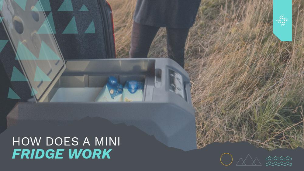 , Wie funktioniert ein Mini-Kühl-/Gefrierschrank?